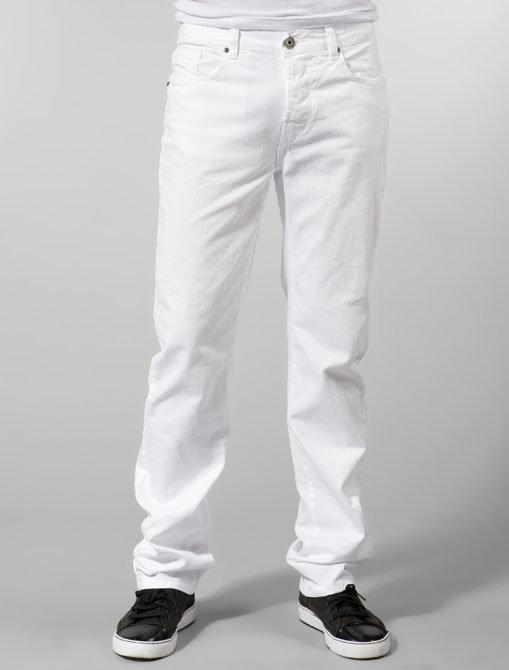 Kanvis Slim Fit Jean in White