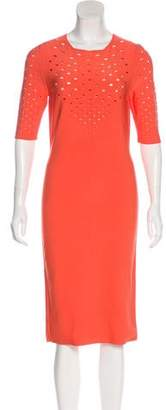Cushnie et Ochs Cutout Bodycon Midi Dress