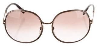 Tom Ford Alexandra Oversize Sunglasses