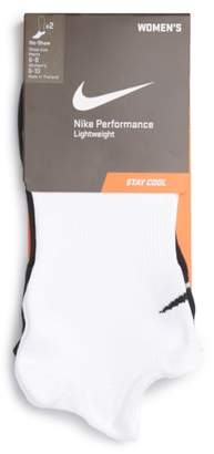 Nike Performance 2-Pack No-Show Socks