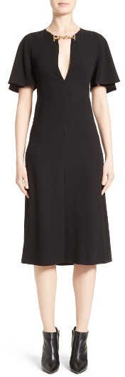 Women's Burberry Lindsay Chain Detail Dress