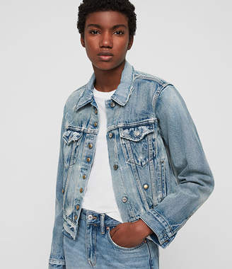 AllSaints (オールセインツ) - Lexi Snap Denim Jacket
