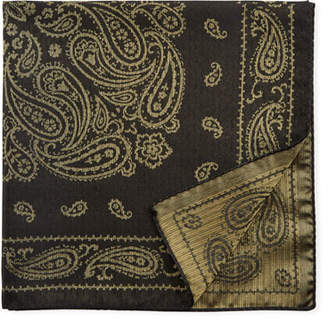Etro Paisley Silk-Blend Pocket Square