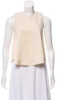Nellie Partow Silk Sleeveless Top