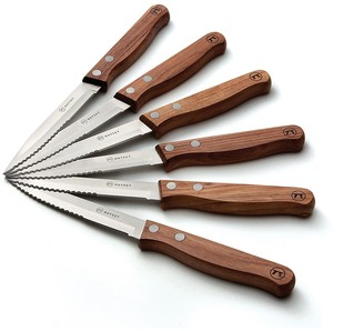 Outset 6-pc. Rosewood Steak Knife Set