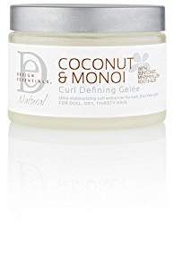Natural curl Design Essentials Defining Gelee-Lightweight Defined Soft Luminous Frizz-Free Curls w/Great Hold-Coconut & Monoi Collection