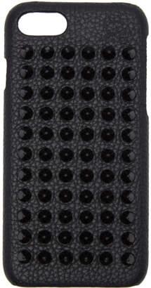 Christian Louboutin Black Loubiphone Spikes iPhone 7 Case