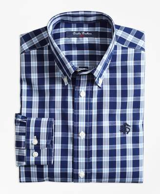 Brooks Brothers (ブルックス ブラザーズ) - BOYS ノンアイロン ブロードクロス GF プラッド ボタンダウンシャツ