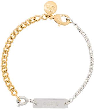 A.P.C. two-chain bracelet