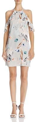 Cooper & Ella Saga Floral Cold-Shoulder Dress
