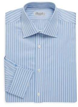 Charvet Regular-Fit Stripe Cotton Dress Shirt