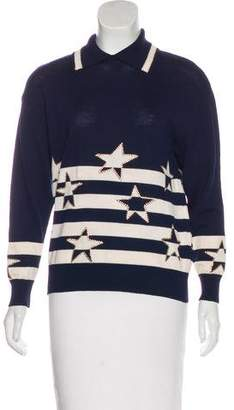 St. John Star Knit Sweater