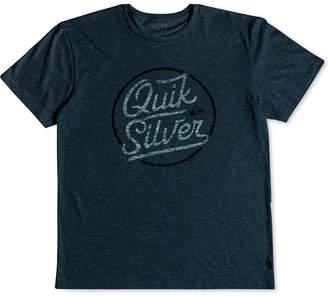 Quiksilver Men's Circle of Script Graphic-Print T-Shirt