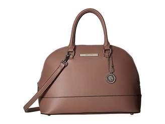 Anne Klein Classic Revival II Dome Satchel w/ Ball Chain Satchel Handbags