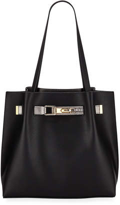 Neiman Marcus Pax Large Belted Tote Bag