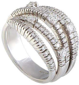 Damiani 18K 1.17 Ct. Tw. Diamond Ring
