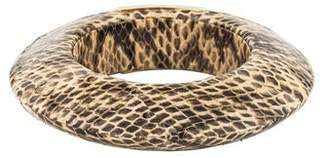 Jimmy Choo Snakeskin Bangle