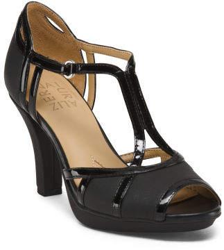 T-strap Dress Heels