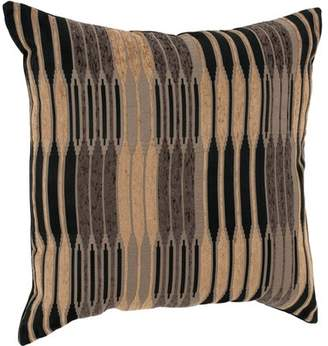 "Better Homes & Gardens Better Homes and Gardens Varigated Stripe Decorative Toss Pillow 22""x22"""