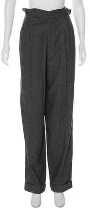 Tom Ford Wool High-Rise Straight Pants w/ Tags