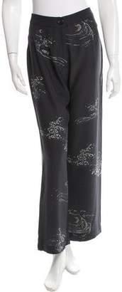 Veda Silk Wide-Leg Pants