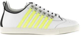 DSQUARED2 neon striped sneakers