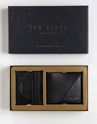 Ted Baker Piaza wallet & card holder gift set