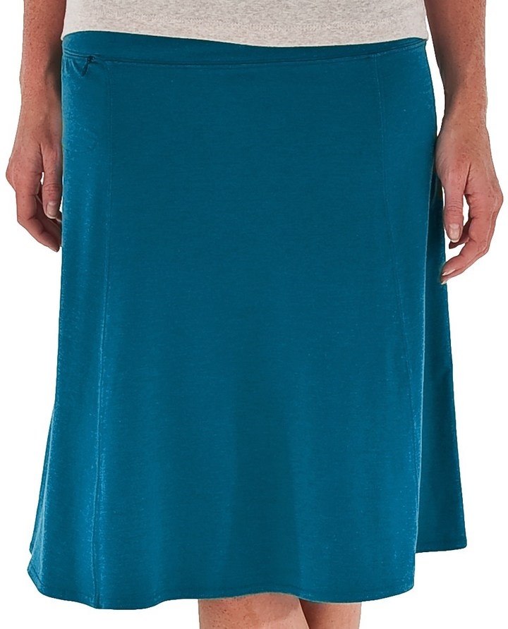 Royal Robbins Essential Rollover Skirt - Stretch Cotton Jersey (For Women)