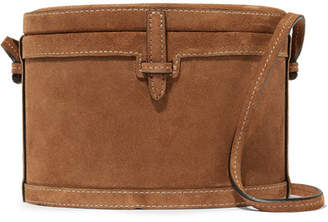 Hunting Season - Trunk Suede Shoulder Bag - Tan