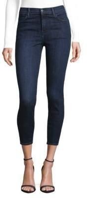 J Brand Alana High-Rise Crop Jeans