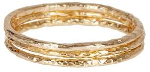 Sterling Forever Triple Band Textured Ring 3-Piece Set $64 thestylecure.com
