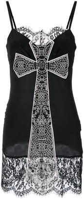 John Richmond lace cross dress