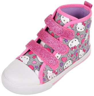 Hello Kitty Girls' Hi-Top Sneakers