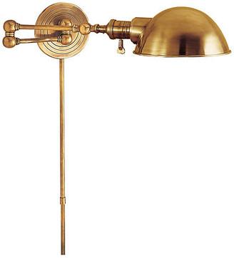 Visual Comfort & Co. Boston Swing Arm - Brass