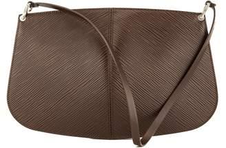 Louis Vuitton Mocha Epi Demi Lune Pochette (3937015)
