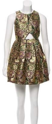 Alice McCall Jacquard Cutout Dress