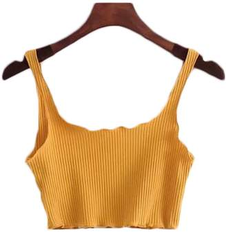 Goodnight Macaroon 'Rylee' Strap Crop Top (5 Colors)