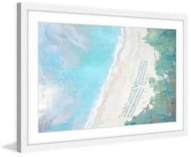 Parvez Taj Coastal Sand Framed Print