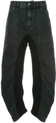 Stella McCartney high-waist ruched jeans