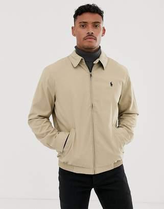Polo Ralph Lauren Harrington Jacket In Beige