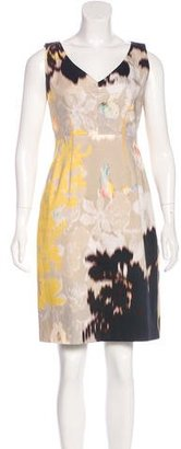 Elie Tahari Printed Knee-Length Dress $75 thestylecure.com