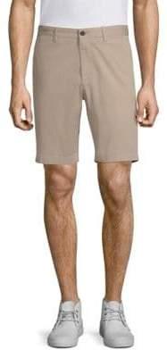 Theory Garment-Washed Zaine Shorts