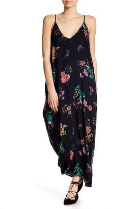Love Stitch Printed Gauze Maxi Dress