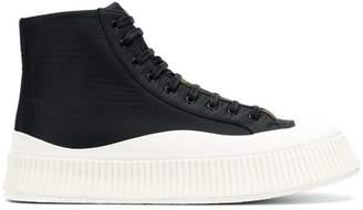 Jil Sander high platform sneakers