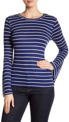 Tart Striped Bell Sleeve Shirt