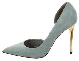 Tom Ford Suede D'Orsay Pumps