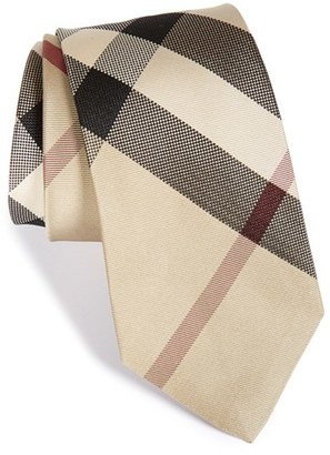 Men's Burberry 'Manston' Woven Silk Tie $190 thestylecure.com
