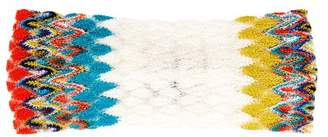 Missoni Mare - Zigzag Knitted Headband - Womens - White Multi