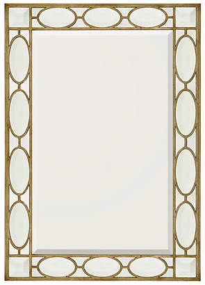 John-Richard Collection Schultz Floor Mirror - Gilded Silver