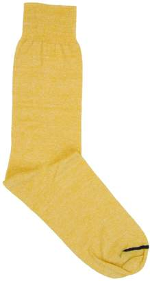 40 Colori - Yellow Melange Linen Socks
